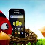 Angry Birds in de nieuwe Samsung Galaxy Ace reclame