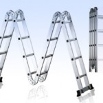 Multifunctionele aluminium 6 in 1 ladder via Rubenshop met 55% korting
