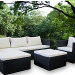 Een mooie Rattan 'Santa Monica' lounge set met 45% korting