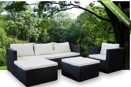 Loungebank buiten aanbieding great exclusieve loungeset