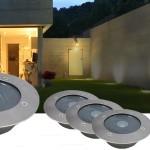 Solar LED grondverlichting voor in de tuin met ten minste 50% korting