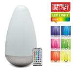 Een Trophies Cocoon LED Sfeerlamp met afstandsbediening met 57% korting