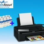 Printabout cartridge voordeelpakket met GRATIS Epson Stylyus SX 235W  all-in-one printer – Alleen vandaag met 56% korting