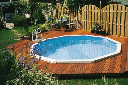 Een eigen zwembad in de tuin van intex of havenwood al for Eigen zwembad in de tuin