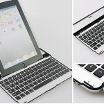Keyboardcases voor de iPad 2/3/4 en Samsung Galaxy Tab met bluetooth toetsenbord met 69% korting