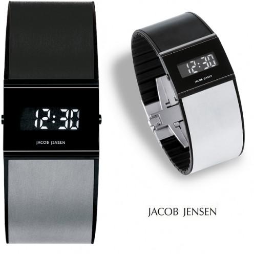 een jacob jensen digitaal design horloge 530 van titanium met 76 korting. Black Bedroom Furniture Sets. Home Design Ideas