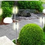 7, 14 of 21 op zonne-energie werkende LED tuinlampen met 57% korting