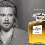 Brad Pitt in nieuwe commercial voor Chanel No. 5