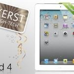 4e generatie iPad met 18% korting