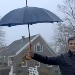 Huis en paraplu