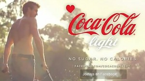 Coca Cola light commercial
