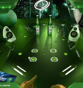 Heineken flipperen
