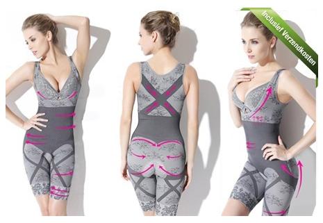 Slimming Suits gemaakt van Bamboo Charcoal voor een slank ...