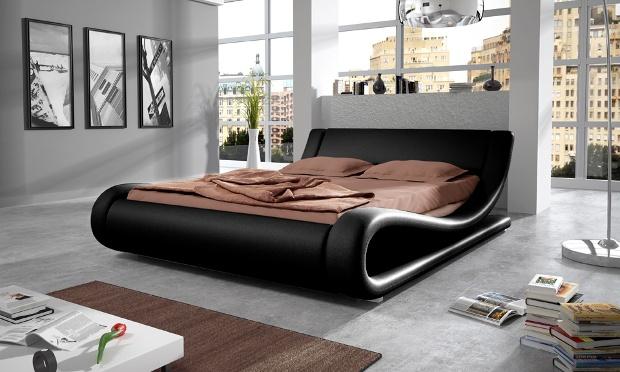 piccione zwart design bed