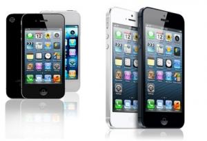 refurbished Apple iPhone 4, 4S of 5