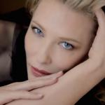 Actrice Cate Blanchett in reclame Giorgio Armani Si
