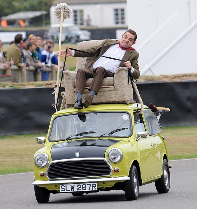 Mr. Bean mini cooper