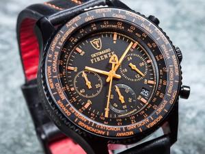 Detomaso firenze horloge chronograaf wereldwijd aanbieding korting
