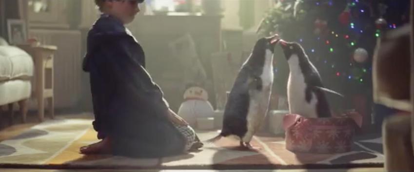 loop als een pinguin