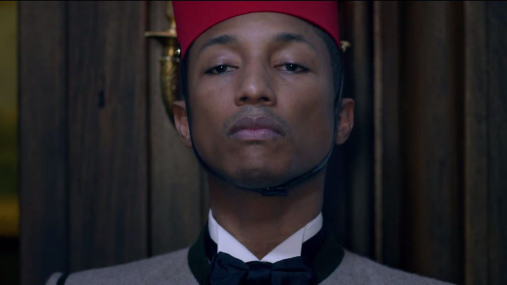 Pharrell williams in Chanel