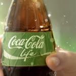 De nieuwe Coca Cola Life, om te zoenen!