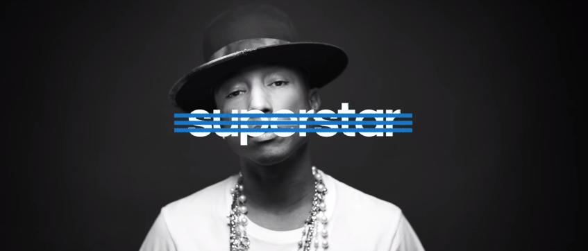 Adidas verwart: Pharrell is geen 'Superstar' Reclameblog