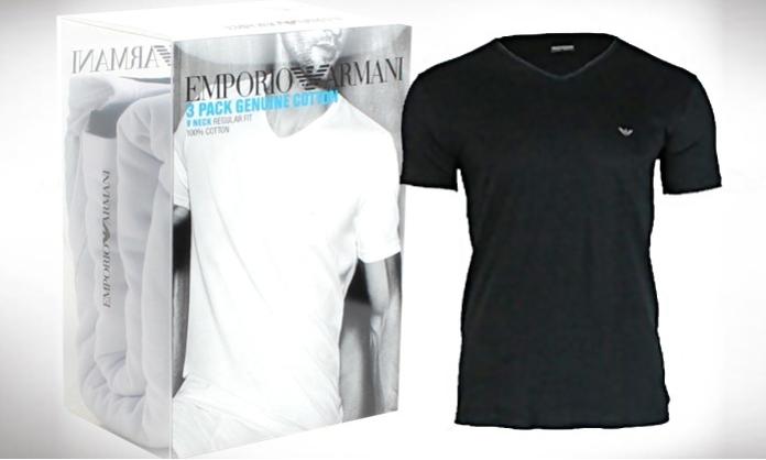 armani t-shirts goedkoop korting