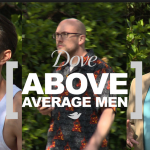 Dove average/beautiful Mannen parodie