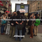JCDecaux houdt niet van Adblockers