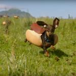Heinz heeft humor en Tekkel-hotdogs