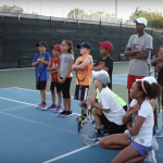 Kids geven Andy Murray les over American Trash taal