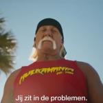 Hulk Hogan is een held in de nieuwe 60ste Even Apeldoorn bellen-reclame